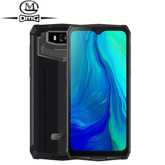 "Blackview BV9100 6.3"" 13000mAH NFC rugged IP68 shockproof mobile phone android 9.0 Helio P35 Octa Core 4G smartphone Fast Charge"