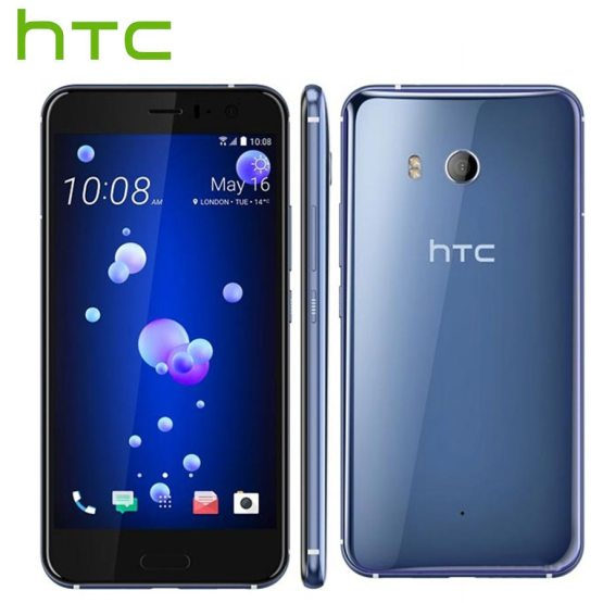Sprint Version HTC U11 4G LTE Mobile Phone IP67 Snapdragon 835 Octa Core 4GB RAM 64GB ROM 5.5 inch 2560x1440P Android Smartphone
