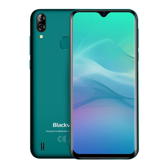 Blackview A60 Pro Android 9.0 pie cell phone MTK6761 Quad core 4080mAh phones 3GB+16GB 4G Smartphone Dual Camera mobile phone