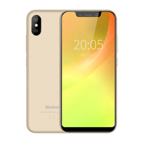 """Blackview A30 Dual Sim Smartphone 5.5"""" 19:9 Full Screen Mobile Phone Android 8.1 MTK6580 Quad Core 2GB+16GB Face ID 3G Cellphone"""