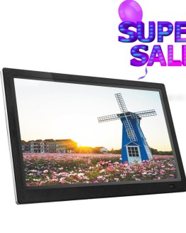32 Inch IPS Backlight HDMI 1920*1080 Full Function Digital Photo Frame Electronic Album digitale Picture Music Video