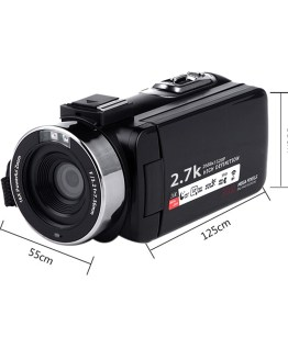 16X WIFI Digital Camera Portable Night Vision Digital Camcorder HDMI 4K Photo Professional 2.7K Video Camera