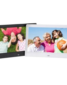 BEESCLOVER 10.1 Inch Widescreen Digital Photo Frame 1024x600 HD Ultra-Thin LED Electronic Photo Album LCD Photo Frame d40