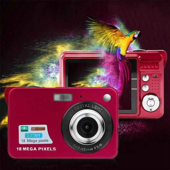 Hot Sale 2.7Inch TFT LCD HD Screen Digital Camera Anti-Shake Face Detection Camcorder