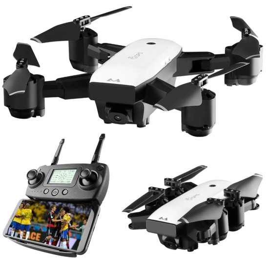 GPS Quadcopter Drone With 110 Degree Wide Angle Camera SMRC S20 Mini GPS Quadcopter Drone With 110 Degree Wide Angle Camera 1080P WIFI FPV 2.4G Altitude Hold RC Portable Model NEW!