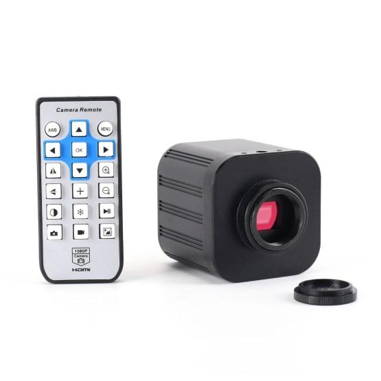 4K Sony Sensor Digital Microscope Camera 2160P 1080P Industrial Video Microscope for PCB CPU Phone Repair Soldering