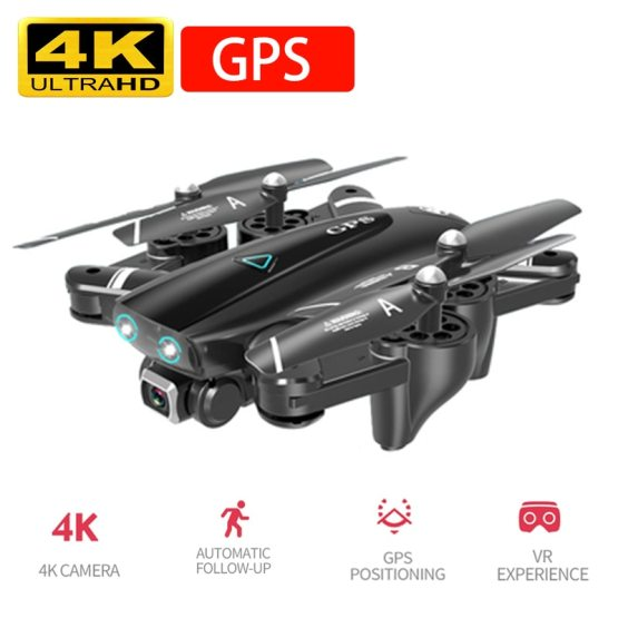 Drone 4k HD Camera GPS Drone 5G WiFi FPV 1080P No Signal Return New Drone 4k HD Camera GPS Drone 5G WiFi FPV 1080P No Signal Return RC Helicopter Flight 20 Minutes Quadcopter Drone with Camera