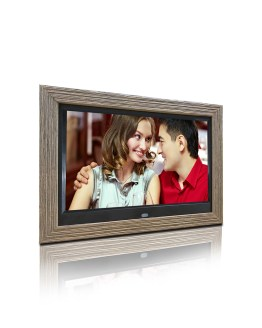 10 inch wooden frame advertising digital photo frame digital photo album autoplay picture video support 1080P