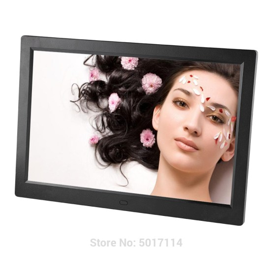 12 Inch LED Backlight HD 1280*800 Full Function Digital Photo Frame Electronic Album digitale Picture Music Video