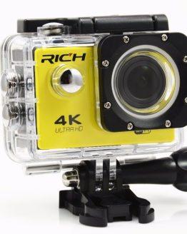 F60R 4K Wifi Action Camera 16MP 170D Sport DV 30M Go Waterproof Pro Extreme Sports Video Bike Helmet Car Cam Dvr