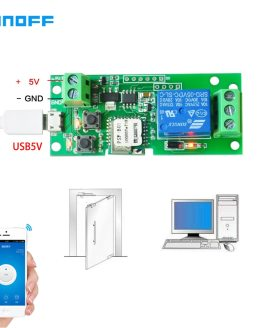Sonoff Smart Remote Control DIY Remote Wireless Switch Universal Module 1ch DC 5V Wifi Switch Timer for Smart Home