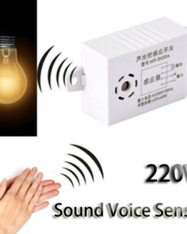 220V Module Detector Auto Switch Intelligent Sound Voice Sensor Light Switch Smart Home Automatic Induction Switch Controller