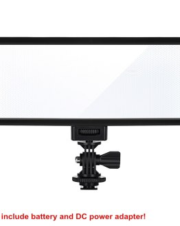 Viltrox L132T LED Video Light Ultra Thin LCD Display Bi-Color & Dimmable DSLR Studio Light Lamp Panel for Camera DV Camcorder