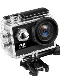 4K Action Camera Ultra HD 4K 60fps 24MP Wifi Sport Camera 2.0'' IPS Screen 170D Wide Angel Go Waterproof Pro Sports Video Camera