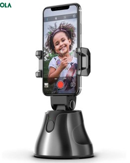 Bonola Auto Smart Shooting Selfie Stick Intelligent Gimbal AI-Composition Object Tracking Face Tracking Camera Phone Holder