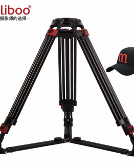 miliboo Heavy Duty Tripod MTT609A without Head Aluminum Professional Camera Stand Video Camcorder Tripod VS manfrotto Tripod