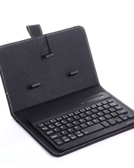Portable PU Leather Wireless Keyboard Case for iPhone Protective Mobile Phone with Bluetooth Keyboard For IPhone 11 Smartphone