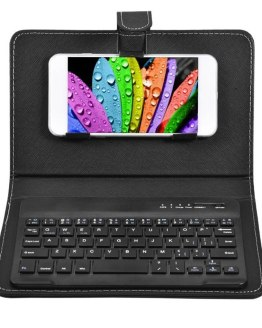 Wireless Keypad PU Leather Protective Cover for 4.8inch-6.8inch