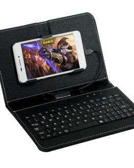 Mobile Phone Case with Keyboard for Redmi Huawei Smartphone