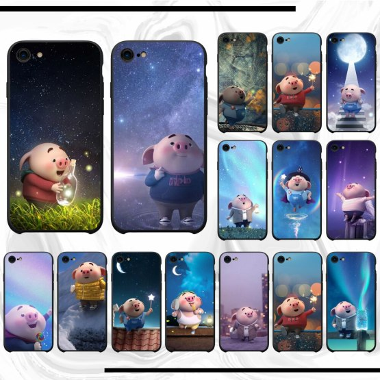The pig small fart Phone Case Cover For iphone 11 pro max x xs xr 7 8 plus 6 6s 5 5s 5se