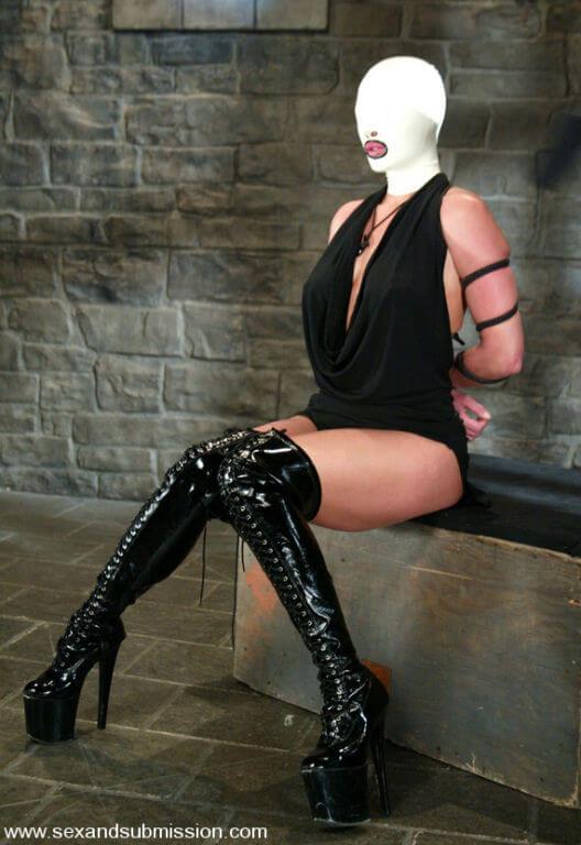 Humiliation- Women in Latex