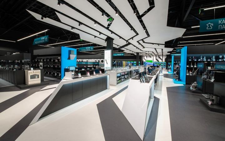 005 Modern Technology Zora Electronic Store Design