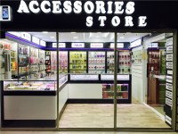 #028 Small Cell Phone Accessories Store Interior Design ...