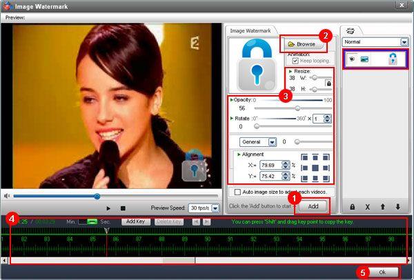 تحميل برنامج الكتابة على الفيديو للكمبيوتر Video Watermark
