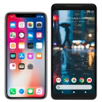 iphone X vs pixel
