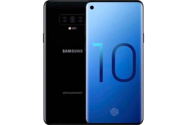 Samsung Galaxy S10 rumoured