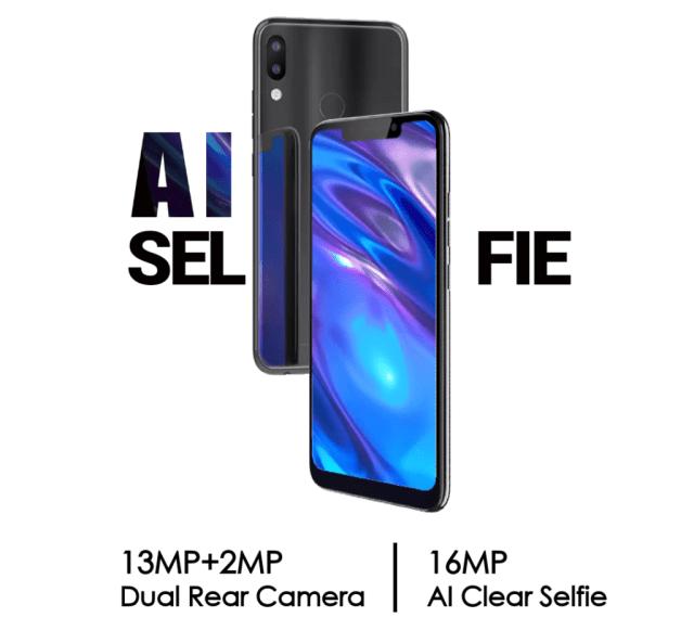 Tecno Camon C11 AI selfie