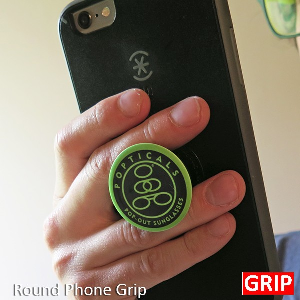 Get your logo on a cheap pop phone socket grip. Perfect for trade shows and promotional product marketing.