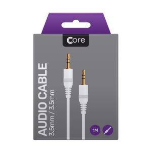 Core Audio Cable 3.5mm Jack White