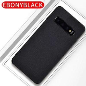 Samsung S8 fabric case Black