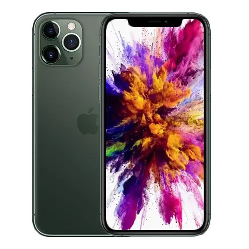iPhone 11 Pro Back and front Collage Matte Space Gray,