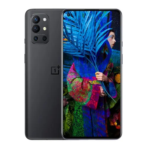Oneplus 9R Front and black back