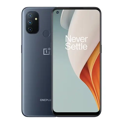 Oneplus Nord N100 Front and Gray back