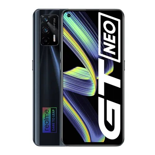 Realme GT neo front Display and Black Back