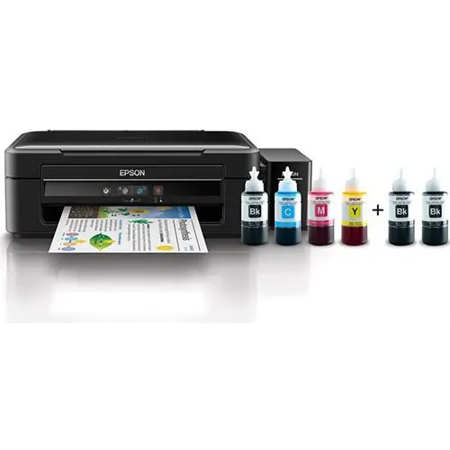 Epson L382 All-in-One Printer Front Display With Ink