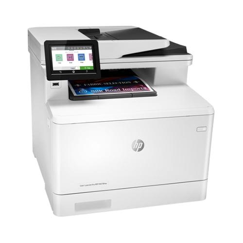 HP Color LaserJet Pro MFP M479fnw Printer Front Side Display