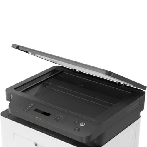 HP Laser MFP 135a Printer Top Open Display