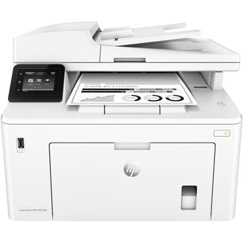 HP LaserJet Pro MFP M227fdw Printer Front Display