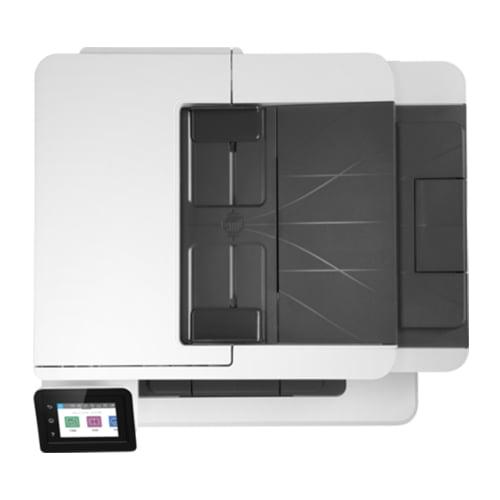 HP LaserJet Pro MFP M428dw Printer Top Display