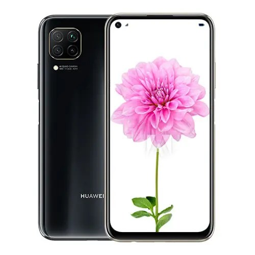 Huawei P40 lite Front and black back image display