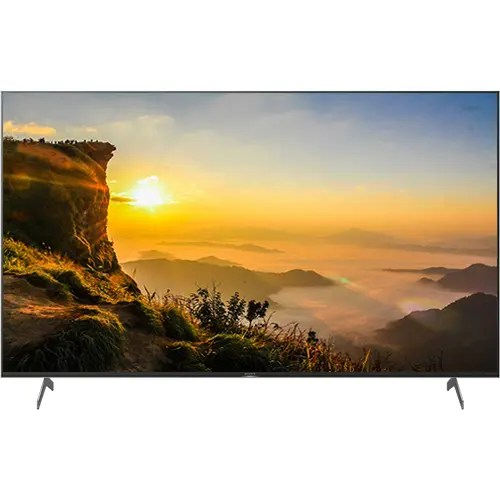"""Sony [65X9000H] 65"""" inch Full Array LED 4K Android Smart TV Front Display"""