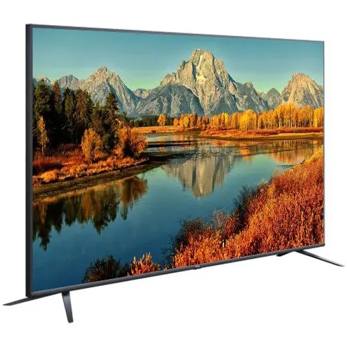 """TCL (65P8M) 65"""" inch 4K UHD AI Android Smart TV Side Front Display"""