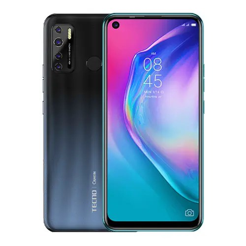 Tecno Camon 16s front and back display
