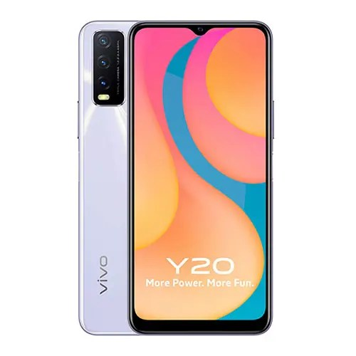 Vivo Y20 Back and Front Display