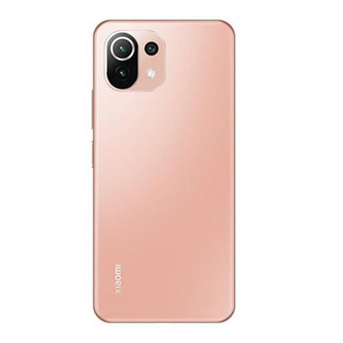 Xiaomi Mi 11 Lite Back display Peach Pink