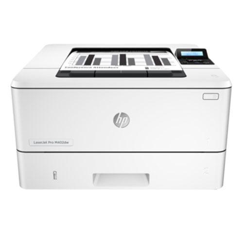 HP LaserJet Pro M402dw Wireless Printer Front Display